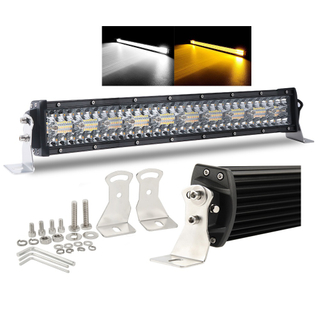 Off Road Led Dual Color Flash Light Bar para camiones 9631-T-RQ