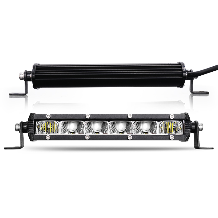 Eagle Series ® 7D Reflector Super Slim Singel Row Led Light Bar JG-9610L